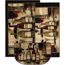 wine kitchen rugs photo 1