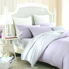 lavender and grey bedding