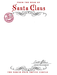 Free Letter From Santa Word Template Santa Letter Template Word Magdalene Project Org