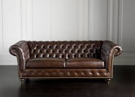 leather couches. Colorado Tufted Leather Sofa With Futuristic Style For Living Room: Couches And