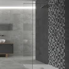 stone trend mix perfect for bathroom mosaic tiles
