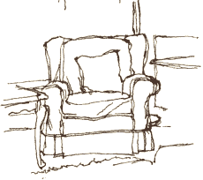 armchair drawing. this armchair at my mum\u0027s just seemed to be saying \u0027draw me!\u0027. those simple, comfortable outlines appealed me. drawing, which i\u0027ve had on drawing