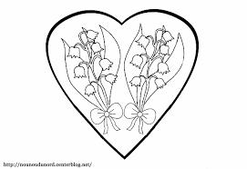 Coloriage Fleur Muguet Coloriage Dessiner Maternelle Imprimer Brin