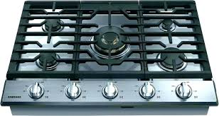 viking 30 gas cooktop 5 burner stove glass top stainless steel with griddle ran r38 top