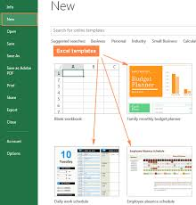 Use Templates Excel Templates How To Make And Use Templates In Microsoft