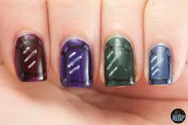 Hey, Darling Polish!: Nail-Art-A-Go-Go: Day 2 - Jewel Tones