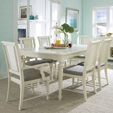 turned leg dining table. Broyhill Furniture Seabrooke 7 Piece Turned Leg Dining Table And Louvered Back Chairs T