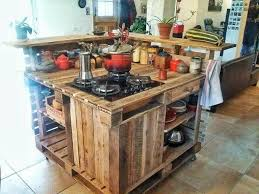 Kitchen Island Design Ideas a kitchen island could be made of shipping pallets and other wood scraps