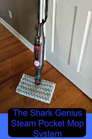 the shark genius steam pocket mop system is perfect for households with small kids or pets