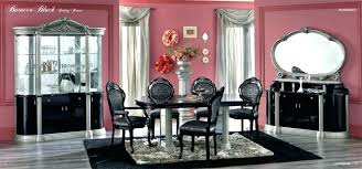 italian lacquer dining room furniture.  Dining Italian Lacquer Dining Room Furniture Black Table  Set  On Italian Lacquer Dining Room Furniture F