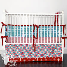 light blue crib bedding inspirational red light blue baby boy crib bedding