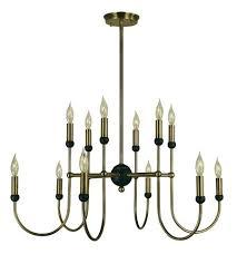 black and brass chandelier light inch antique brass with matte black chandelier ceiling light in antique brass matte black