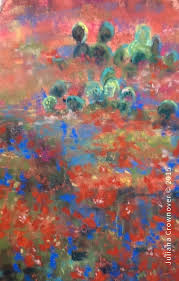 dallas tx plein air pastel work with artist juliana crownover