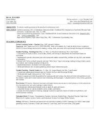 Kindergarten Teacher Resume Sample Kindergarten Teacher Resume ...