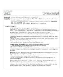 Kindergarten Teacher Resume Sample Kindergarten Teacher Resume ...