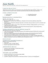 Resume Writing Examples For Students Writing A Good Resume Writing