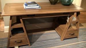 down home saw horse writing desk in oatmeal by paula deen home home gallery s you
