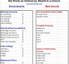 Asset Net Worth Good Asset Net Worth Statement Jpstudinger Group
