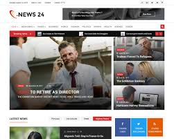 Newspaper Html Template 20 Best News And Magazine Website Templates 2018 Templatemag