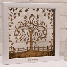personalised wooden 3d layered family tree wall art on personalised wall art family tree with personalised wooden 3d layered family tree wall art tree wall art