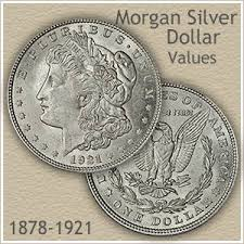 American Silver Coin Value Chart Rising Morgan Silver Dollar Values