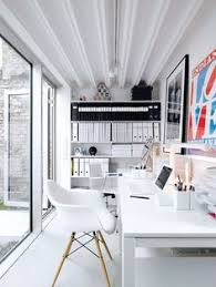 designing home office. All White Home Office Designing E