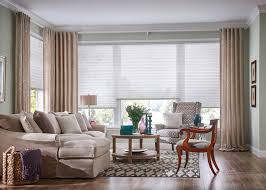 cellular shades with curtains zebrablinds com