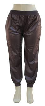 12 units of plus faux leather joggers brown womens pants at alltimetrading com