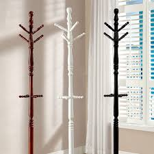 Cottage Coat Rack Furniture Of America FOACMAC100CH Putnam Cottage Coat Rack Cherry 59