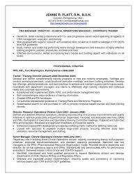 Nurse Anesthetist Resume Cover Letter For Resume Rn Sle By Industry Monster Nursing Student 96