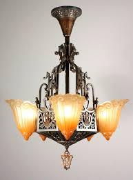 hector guimard chandelier wonderful art chandelier antique five light slip hector guimard chandelier for