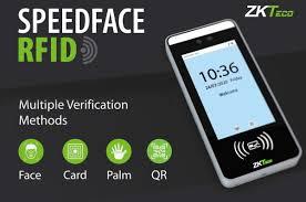 ZKTeco SpeedFace <b>RFID</b> new touchless <b>biometrics access</b> control ...