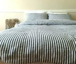 gray striped duvet cover ticking stripe duvet grey grey and white striped duvet cover uk
