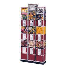 Snack Tower Vending Machine Reviews Simple Beaver Triple Decker Tower Vending Machine Gumball