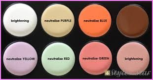 concealer wheel between concealer camouflage color corrector and cover up makeup