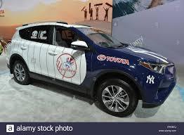 Manhattan, New York, USA. 23rd Mar, 2016. Toyota RAV4 Hybrid ...