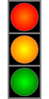 Traffic Light Food Chart Amazon Com Laminated 24x48 Inches Poster Traffic Light Red
