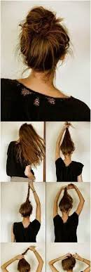 Easy Long Hairstyles 19 Wonderful Messy Bun I Actually Like My Hair To Be Slightly Neater When All Is