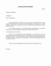 What Does Resume Include Awesome Cover Letter Enclosed Ive Should