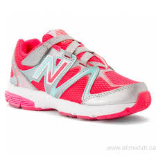 new balance shoes for girls pink. foot locker canada girls\u0027 - new balance kv697 hook \u0026 loop silver/pink sneakers shoes for girls pink