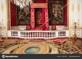 Zeremonielle Schlafzimmer Im Schloss Chateau De Chambord