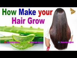 how make your hair grow aloe vera for