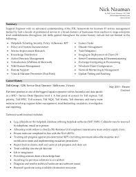 resume desktop support engineer .