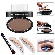eyebrow powder. wisdompark professional eyes makeup brow stamp seal eyebrow powder waterproof grey brown eye with