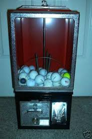 Golf Ball Vending Machine Extraordinary OLD 48 Cent ANTIQUE GOLF BALL VENDING MACHINELIKE NEW 48