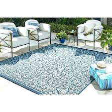 Outdoor Rug 8x10 Indoor Rugs Area Home Oasis Cheap Navy Blue