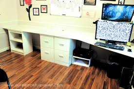 office desk surface.  Surface Build A Large Surface Home Office Desk From Inexpensive 34 With Office Desk Surface D