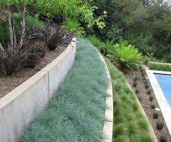 backyard retaining wall designs. Backyard Retaining Wall Landscape Contemporary With Grasses Fire Pit Accessories Designs