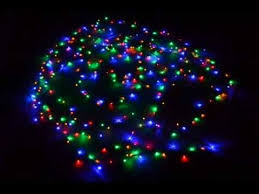 Christmas Lights 300 Multi -Color LED Lights with Eight Function ...