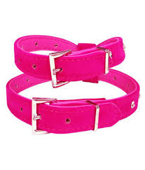 nema bling rhinestone leather puppy collar harness for chihuahua teacup pink small